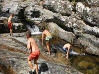 Baños en el rio Águeda.