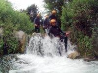 在Sima del Diablo溪降3小时