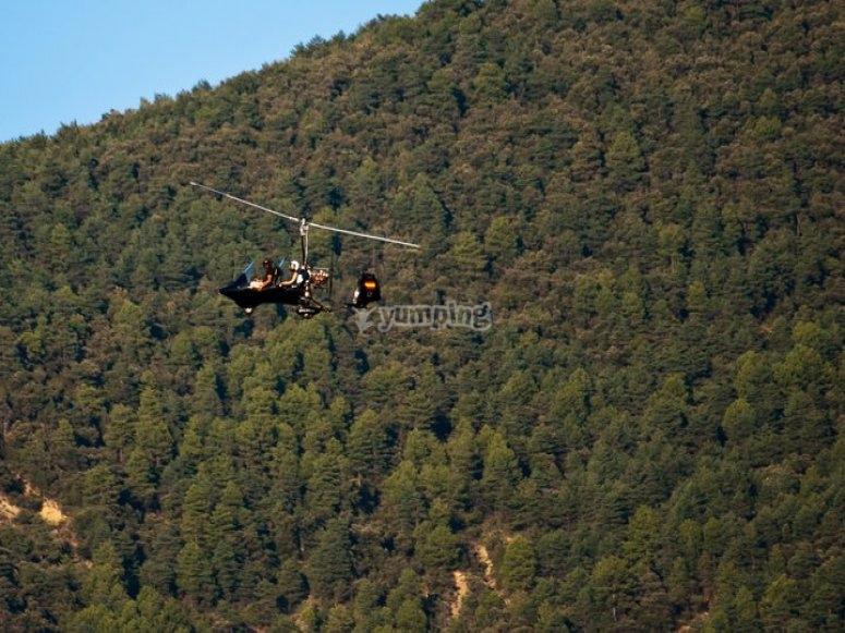 Sorvolando i Pirenei aragonesi