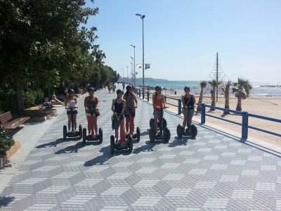 Pasear en segway playa alicantina y centro ciudad