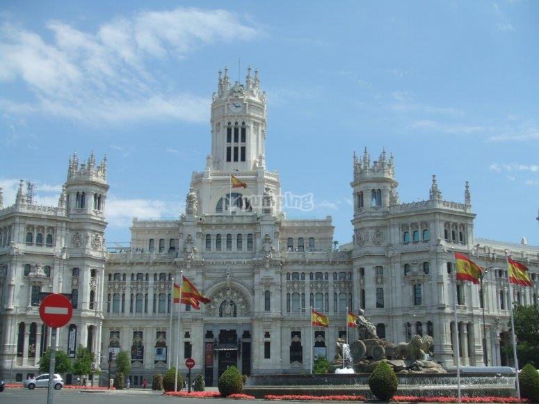 Actual ayuntamiento de Madrid