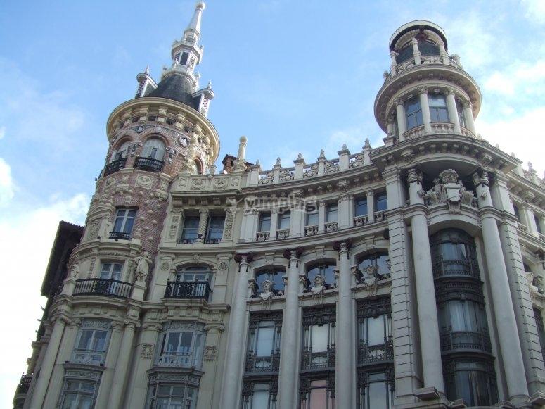 Visita guiada edificios históricos Madrid