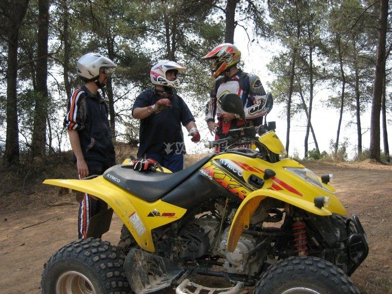 Tour in quad fuoristrada