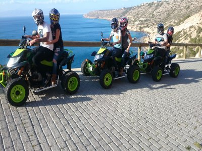 Quad adventure in the south of Mallorca 3h