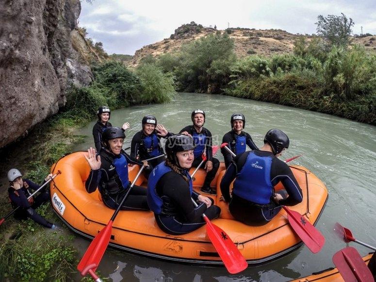 Grupo en el raft
