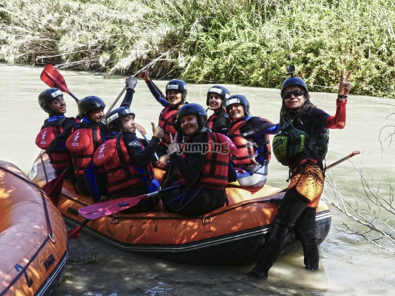 Rafting in Andalusia