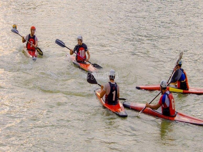 iTours experience canoa grupo