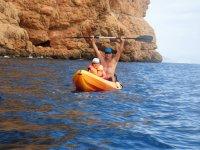 Kayaking y diversion