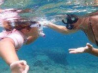 Snorkeling con tus amigos