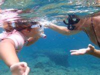 Snorkeling with your friends