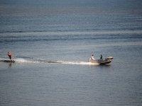 Sci nautico sulle coste di Ibiza