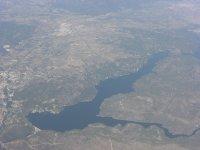 Pantano de San Juan vista aerea