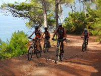 Ruta de mountain bike y senderismo en Sa Carrossa