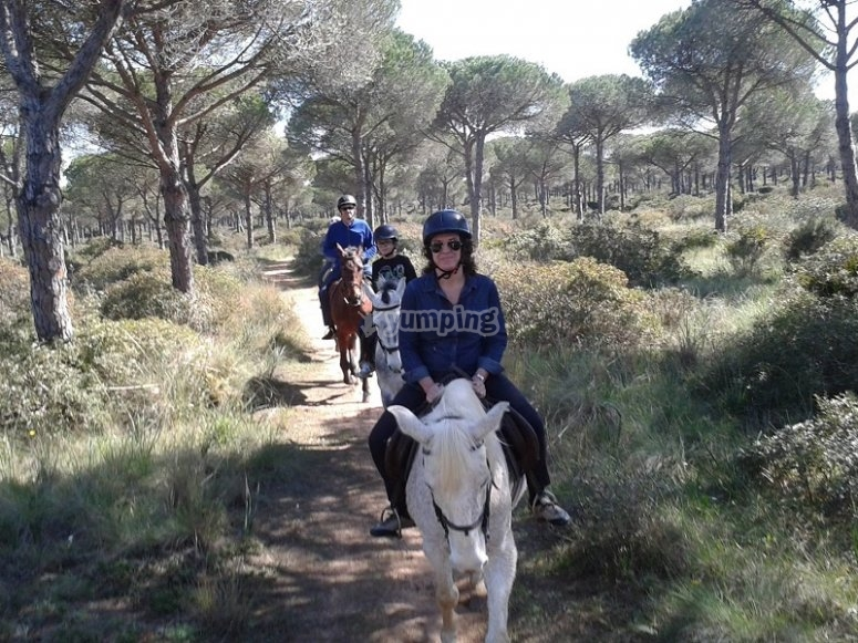 Horse riding excursion in Conil