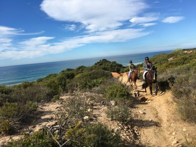 Montar a caballo en Conil de la Frontera 90 min