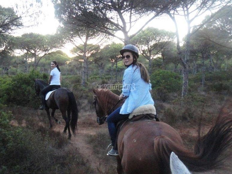Ruta a caballo en Conil