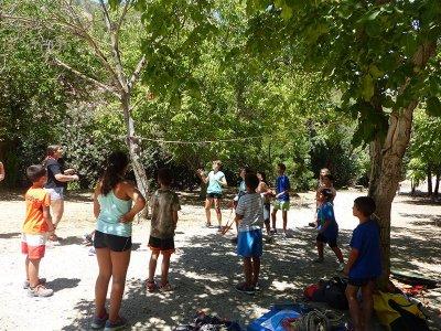 Campamento de inglés con actividades en Granada