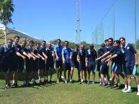 Campo estivo della squadra tecnica di Marbella