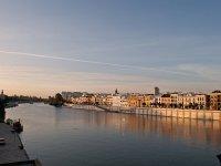 Guadalquivir como escenario para remar