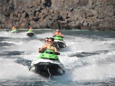 喷气滑雪之旅Los Gigantes与浮潜免费