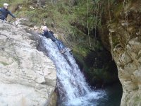 tirando giù la cascata