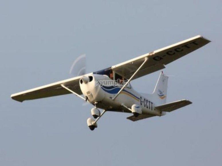 Flight over Pisuerga