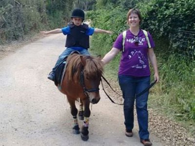 Learn to ride a pony in Llavaneres