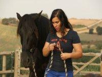 Con el caballo