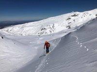 Ruta avanzada de raquetas de nieve