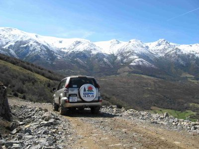 4x4 ride in Cantabria for 2, half a day