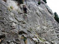 Curso de iniciación a la escalada en Castellón, 4h