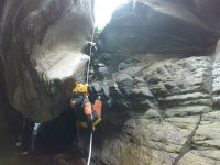 Canyoning for beginners in Paterna del Río