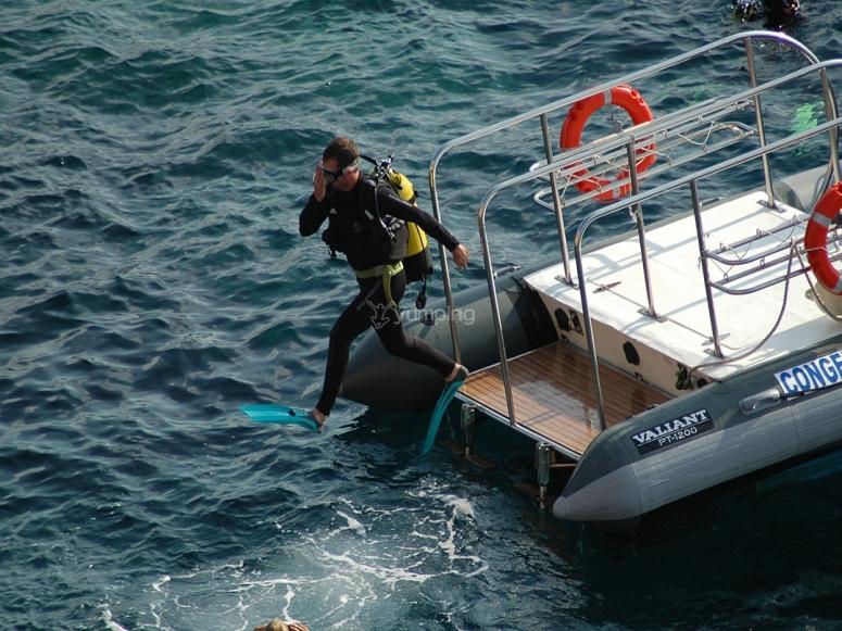 Santa Ponsa Induction to scuba diving
