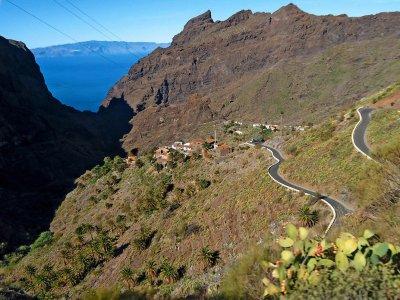 Ruta Paisajes Tenerife Moto 600 cc Sólo conductor