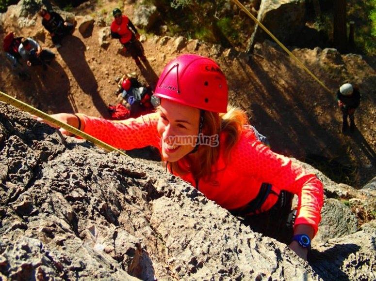 攀登全安全