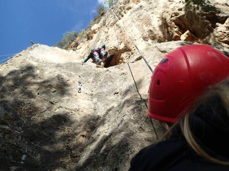 攀岩独特体验