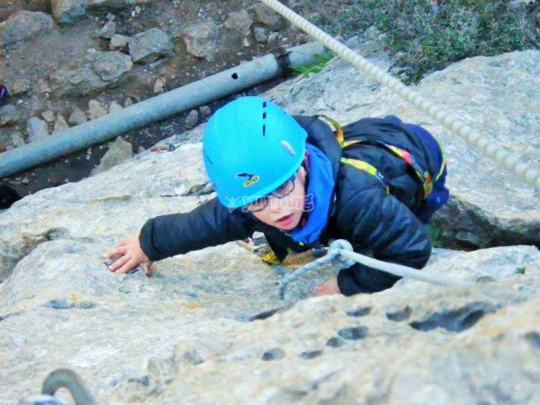 攀岩也适合初学者