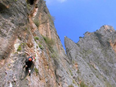 4h intermediate level climbing in Majorca