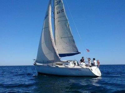 Paseo en velero Costa Blanca 8 horas en Agosto