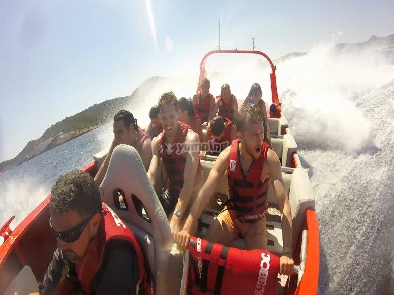 Jet Boat en Ibiza