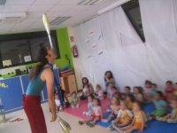 Animando una fiesta para niños