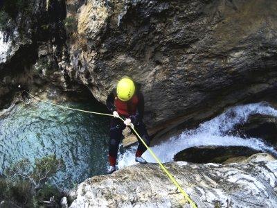 Genilla PriegodeCórdoba峡谷的下降