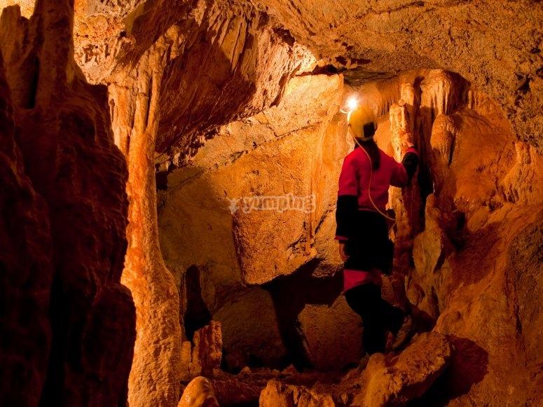 寻宝家庭洞穴