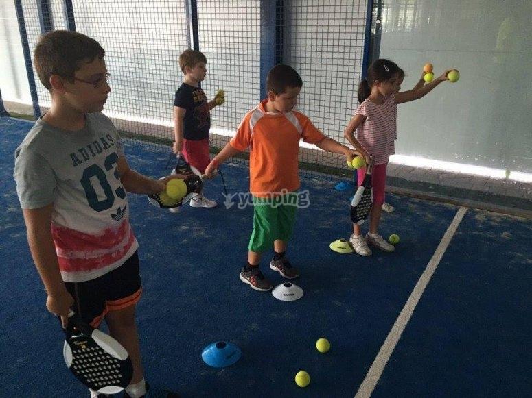 营地网球课程