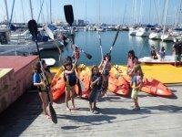 Peques与皮划艇桨