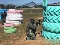 Neumáticos gigantes para protegerse de los impactos