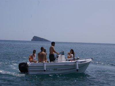 Boat rental w/o title Benidorm 4 h