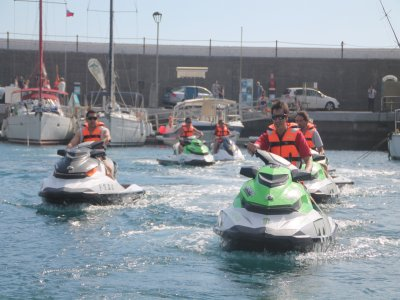 Bachelor party with Jet skis, Tenerife