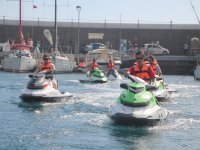 Despedida de soltero con motos de agua en Tenerife