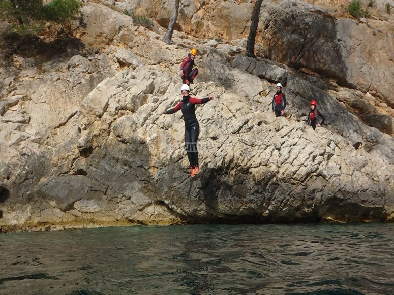 First jumps